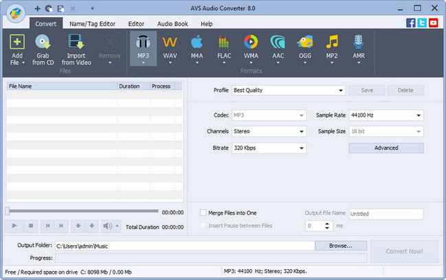 AVS Audio Converter Crack Serial key