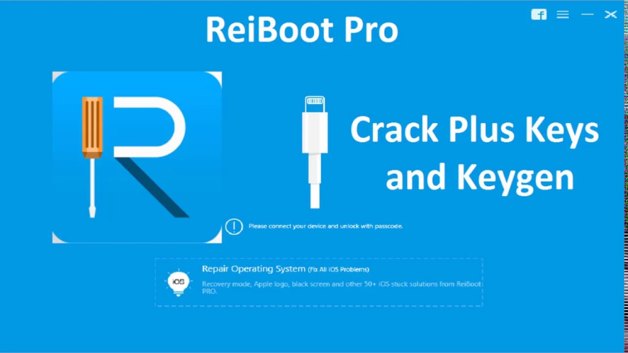 Tenorshare ReiBoot Pro Crack Serial Key