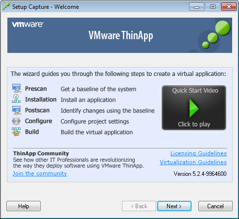 VMware ThinApp Enterprise Crack Serial Key