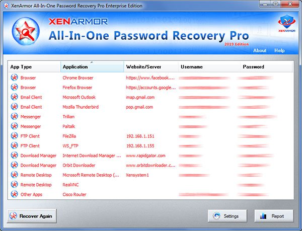 All-In-One Password Recovery Pro Enterprise Crack Serial Key