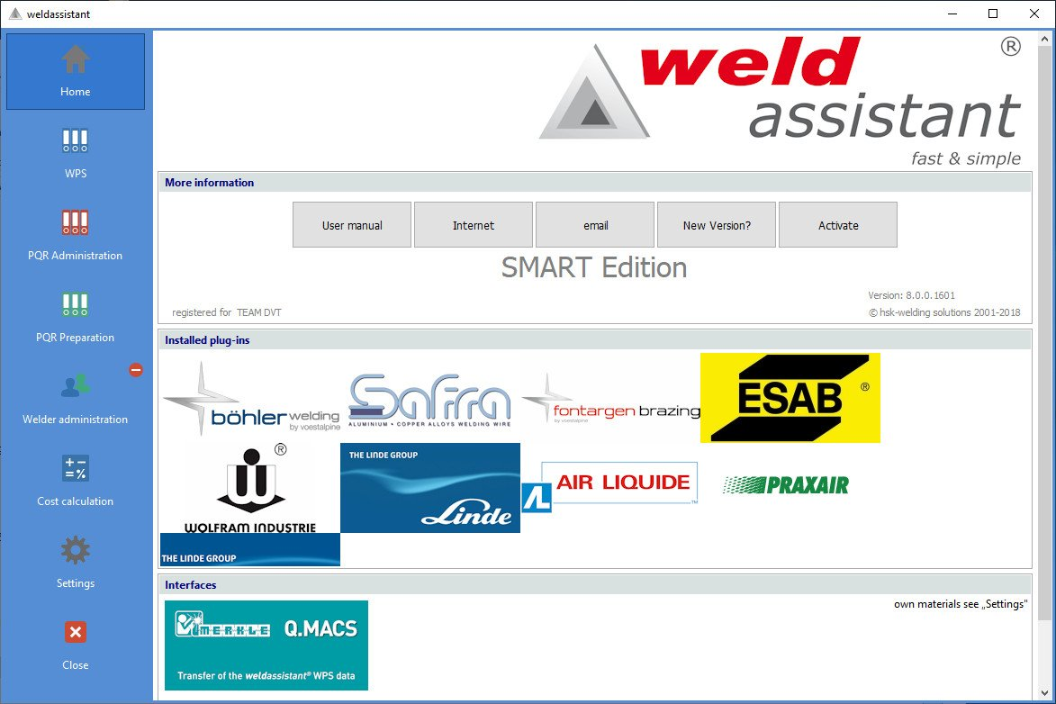 HSK Weldassistant SMART Edition License Key
