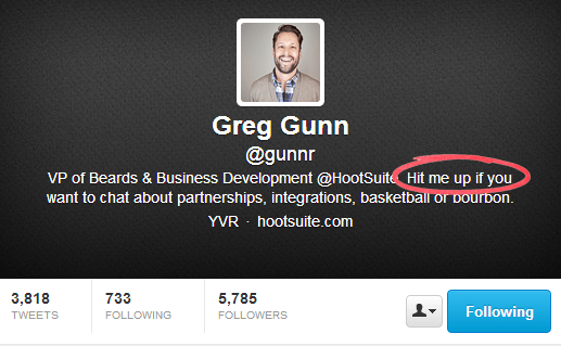 Greg Gunn - Twitter Bios That Convert Customers