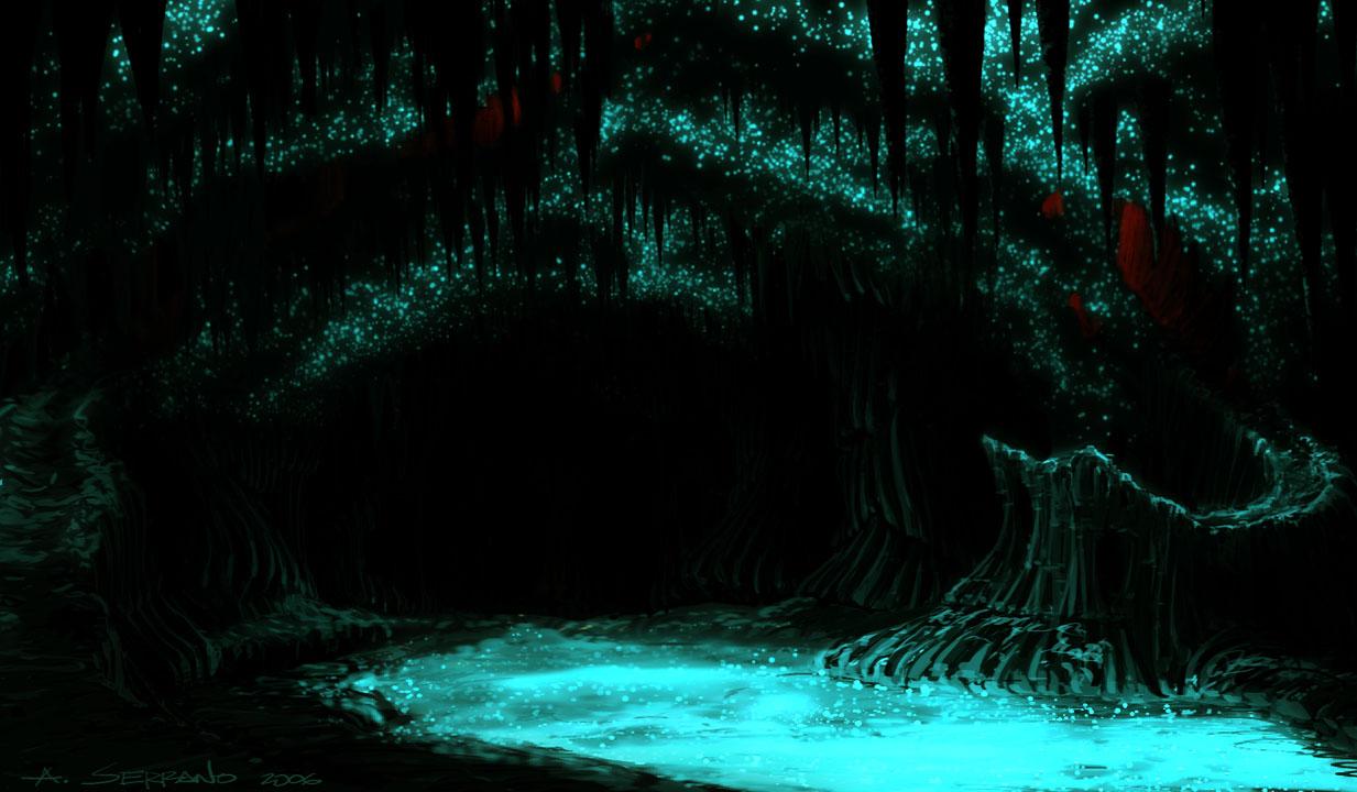 Resultado de imagen de glow worms waitomo new zealand cave