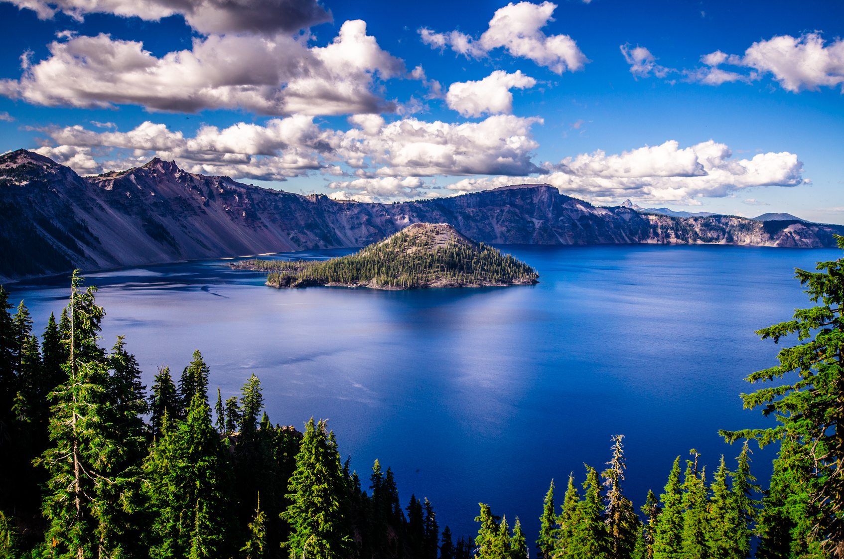 Crater Lake Seventh Deepest Lake In The World