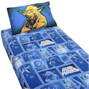 Star wars yoda bedding sheets