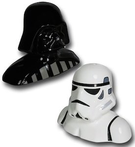 Darth Vader And Stormtrooper Salt And Pepershaker Set