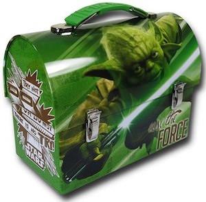 Star Wars Yoda lunch box
