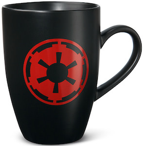 Star Wars logo mug