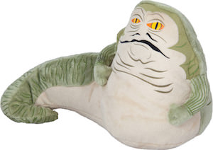 Star Wars plush of Jabba the Hutt
