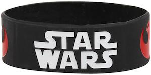 Rubber lStar Wars Logo's Bracelet