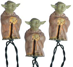 Yoda String Lights