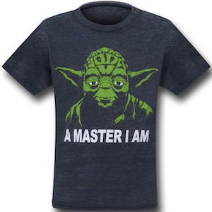 Star Wars Yoda Master t-shirt for toddlers