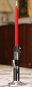 Star Wars Darth Vader Lightsaber Candle Holder