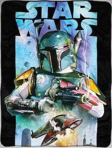 Star Wars Boba Fett Fleece Blanket
