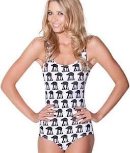 Star Wars Women's AT-AT One Piece Swimsuit
