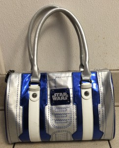 48321486639b Star Wars R2-D2 Bowling Bag Style Purse