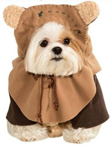 Ewok Small Pet Costume