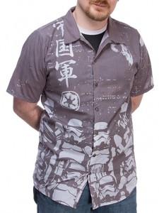 Hawaiian Stormtrooper Button Down Shirt