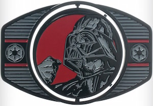 Star Wars Darth Vader / Stormtrooper Reversible Belt Buckle