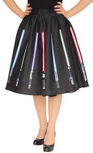 Star Wars Lightsaber Women's Skirt
