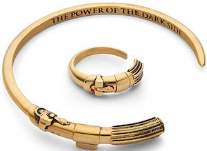 Star Wars Lightsaber Ring & Bracelet Jewelry