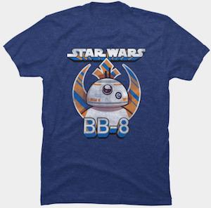 Rebel Logo BB-8 T-Shirt