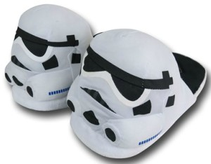 Stormtrooper Puffy Slippers