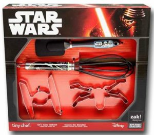 The Force Awakens Cookie Cutter Baking Set