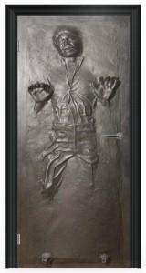 Han Solo Carbonite Door Wrap Decal