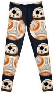 Star Wars Black BB-8 Leggings