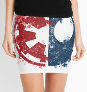 Rebel Or Empire Choose Your Path Skirt