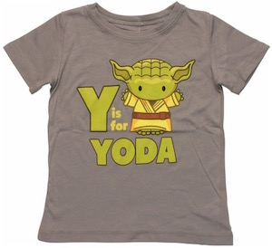 Y Is For Yoda T-Shirt