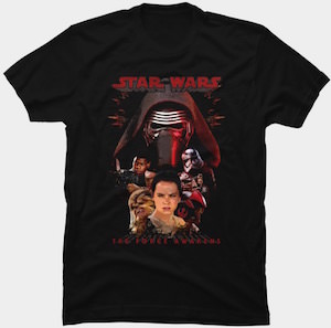 The Force Awakens Character T-Shirt