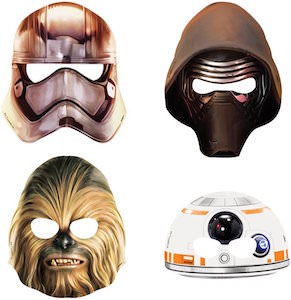 Star Wars Party Mask Set