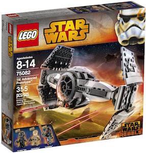 LEGO TIE Advanced Prototype