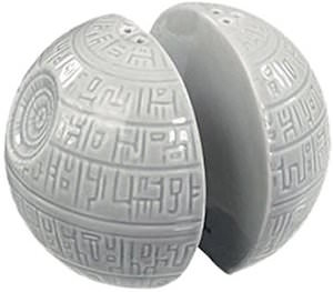 Death Star Salt And Pepper Shaker Set