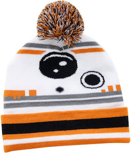 BB-8 Beanie Hat With Pompom On Top
