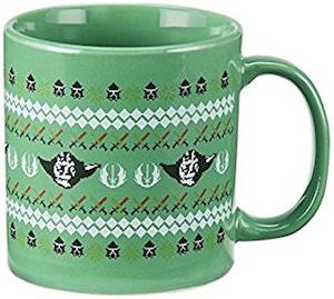 Yoda Christmas Mug