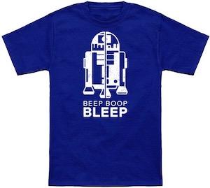 R2-D2 Beep Boop Bleep T-Shirt