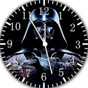 Darth Vader Wall Clock Get Star Wars