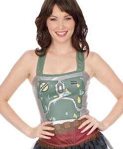 Women's Boba Fett Costume Top