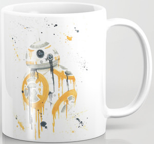 Splatter BB-8 Mug