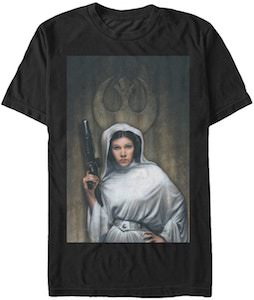 Painted Princess Leia T-Shirt