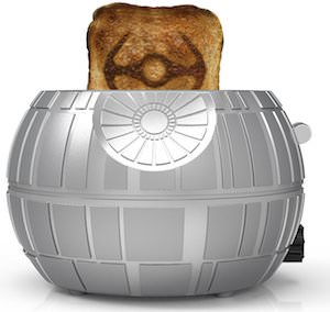 Death Star Toaster That Makes TIE Fighter Toast