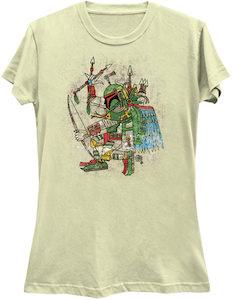Aztec Boba Fett T-Shirt