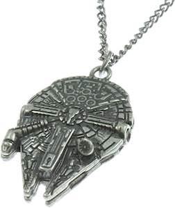 Millenium Falcon Necklace