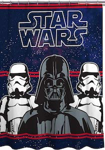 Darth Vader and Stormtroopers Shower Curtain