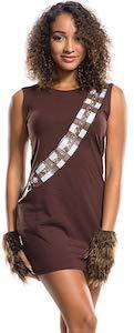 Brown Chewbacca Dress Costume