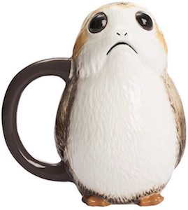 Star Wars Porg Shaped Mug