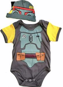 Boba Fett Bodysuit And Hat
